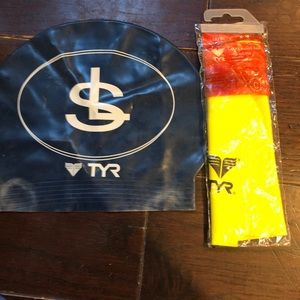 TYR swimcap lot